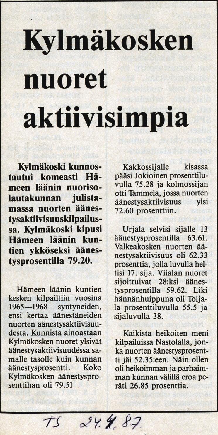 kunta työpaikat Hameenlinna